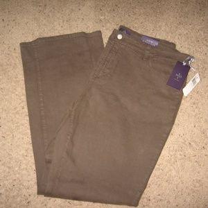 NWT - NYDJ - Straight Leg Jeans - 18W - Olive